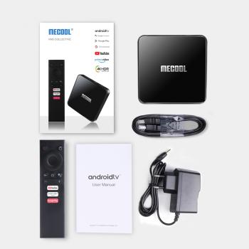 Mecool KM3 4/64 Гб Android TV 10 Smart TV Box ТВ приставка (655)