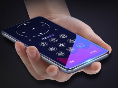 MP3-плеер Ruizu X16 S Max Bluetooth 8Gb с внешним динамиком Серебристый