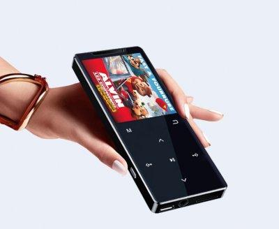MP3-плеер Ruizu D12 4Gb с внешним динамиком Черный