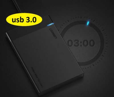 "Внешний карман Ugreen US221 Original USB 3.0 (30848) SATA для HDD 2.5"""