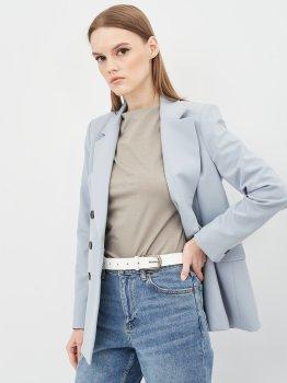 Женский ремень кожаный Sergio Torri 16-0018/30 біл 125 см Белый (2000000023809)