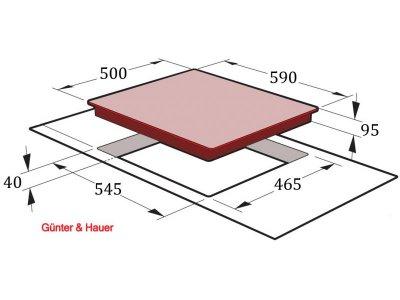 Варочная поверхность Gunter&Hauer G 4 BL