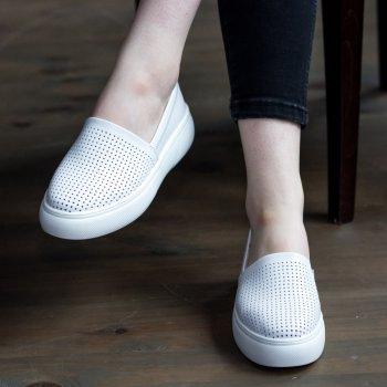 Слипоны женские Shoes Edhessa 2776 25 Белый