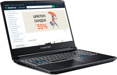 Ноутбук Acer Predator Helios 300 PH315-53-76PC (NH.QAVEU.00A) Abyssal Black