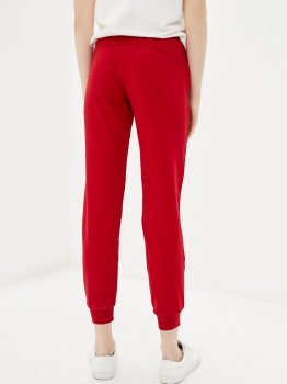 Спортивні штани Roza 200124 Темно-червоні