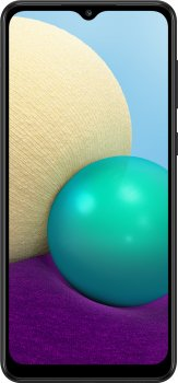 Мобильный телефон Samsung Galaxy A02 2/32GB Black (SM-A022GZKBSEK) (352583794052075) - Уценка