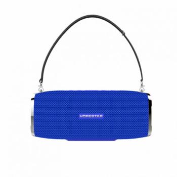 Портативна бездротова Потужна Bluetooth колонка HOPESTAR A6 Синій