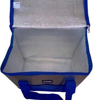 Термосумка SANNEN, сумка холодильник 25 літрів, Термобокс, синій
