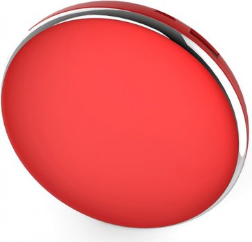 УМБ Line Art Mirror 4000 mAh Red (4004M-2)