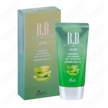 ББ крем с экстрактом алоэ Ekel Aloe BB cream SPF50+PA+++