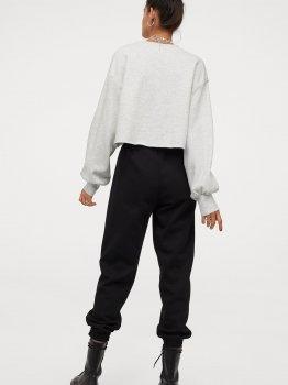 Спортивные брюки H&M 97162302 Черные