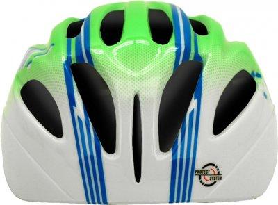 Велосипедний шолом Cairn Earthy Jr green-blue 48-52 (0300139-92-48)