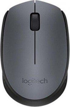 Мышь Logitech M170 Grey-Black (910-004642)