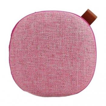 Портативна колонка бездротова акустика AWEI Y260 Bluetooth Speaker рожева