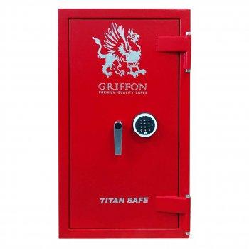 Сейф огневзломостойкий Griffon CL III.90.E RED