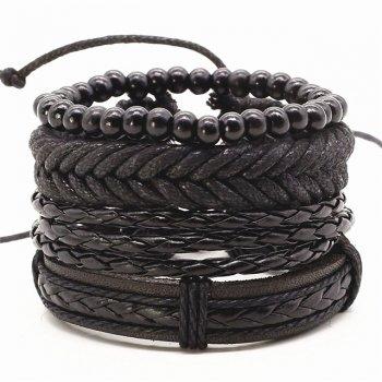 Набор браслетов Инки DiaDemaGrand Черный (061725-19)