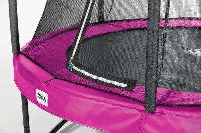 Батут Salta Comfort Edition круглий 213 см Pink (5072P)