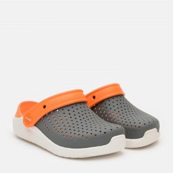 Крокси Crocs Kids' LiteRide 205964-04O Сірі