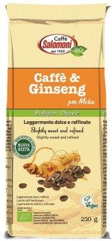 Органический кофе Salomoni Ginseng Biologico с женьшенем 250 г (8025658030157)