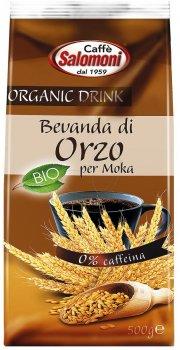 Органічний кавовий напій Salomoni Bio Rzetto з ячменю 500 г (8025658020165)