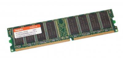Оперативна пам'ять 512 МБ, DDR, Hynix (для настільних ПК, 400 МГц, 2.5, CL3, HYMD264646B8J-D43) БО