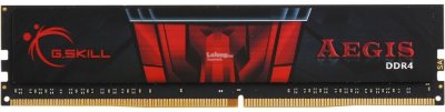 Оперативная память 4 ГБ, DDR4, G.SKILL Aegis (для настольных ПК, 2400 МГц, 1.2 В, CL15) БУ