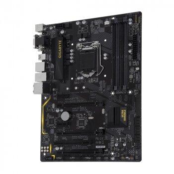 Материнская плата s1151, Gigabyte GA-B250-HD3P (4xDDR4, Intel B250, PCI-Ex16x3, VGA, DVI, HDMI, A БУ