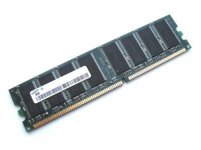 Оперативна пам'ять 512 МБ, DDR, Samsung (для настільних ПК, 400 МГц, 2.5, CL3, M368L6423HUN-CCC БУ