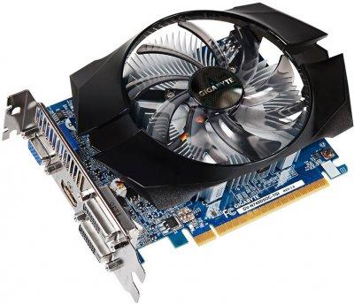 Відеокарта Gigabyte PCI-Ex GeForce GT 740 OC 1GB GDDR5, 128 біт, 993/5000 МГц, VGA, 2хDVI, HDMI БУ