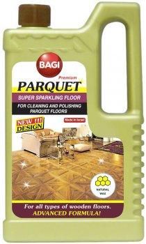 Моющее средство Bagi для мытья натуральных деревяных полов Супер блеск 1000 мл (7290003395583)