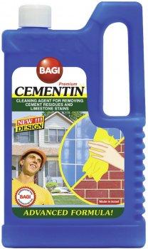 Моющее средство Bagi для мытья очищения поверхностей от цемента Цементин 1000 мл (7290003395972)