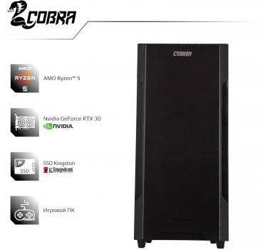 Комп'ютер Cobra Gaming A36.16.H1S4.37.881