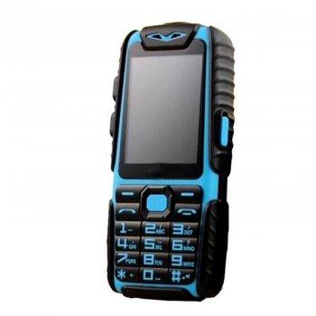 "Мобільний телефон Land Rover A6 (Guophone A6) blue Кнопковий IP67 2,4"" 9800mAh (1219 zp)"
