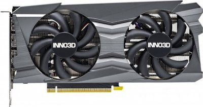Видеокарта Inno3D, GeForce RTX 3060, TWIN X2 OC, 12Gb GDDR6, 192-bit, HDMI/3xDP, 1792/15000 MHz, 8-pin (N30602-12D6X-11902120)