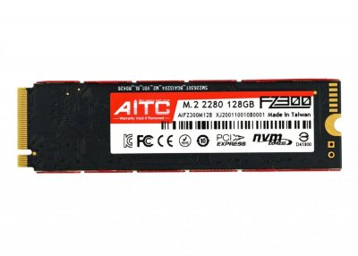 128Gb SSD Диск M. 2 AITC AIFZ300M128 FZ300 SSD NVMe 2280 PCIe Gen3.0 x4 (770008597)