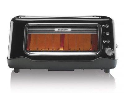 Тостер з кварцовими тенами SilverCrest SLTG 1100 A1 black