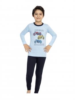 Пижама Minimoon Темно-синий (8695850532317)