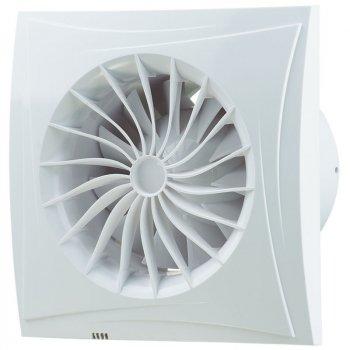 Вытяжной вентилятор Blauberg Sileo 125 Н (датчик влажности) белый
