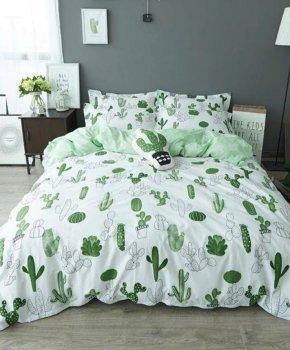 Комплект постільної білизни Zastelli Бязь Cactus 145x210 (2500000992223)