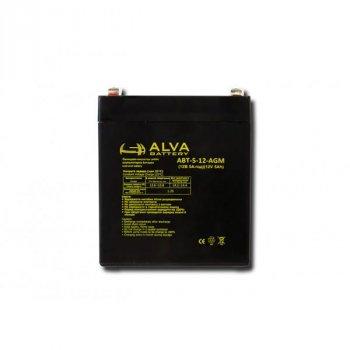 Аккумулятор ALVA battery АВТ-5-12-AGM
