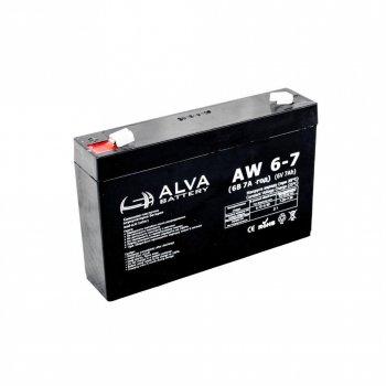 Аккумулятор ALVA battery AW6-7