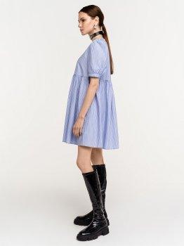 Платье Befree 2121166509-42 Голубое