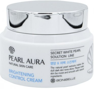 Крем для лица Bonibelle Жемчуг Pearl Aura Brightening Control Cream 80 мл (8809474498120)