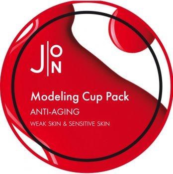 Альгинатная маска для лица J:ON Антивозрастная Anti-Aging Modeling Pack 18 г (8809175179748)
