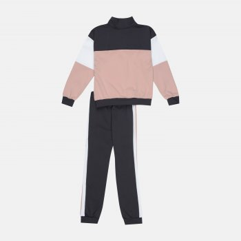 Спортивный костюм Одягайко 555177/555178 Пудра/Серый