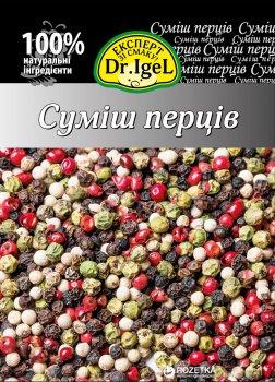 Упаковка суміші перців Dr.IgeL горошок 15 г х 12 шт. (34820155170192)