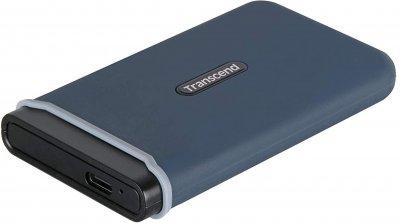 SSD накопичувач Transcend ESD370C 1TB USB 3.1 Type-C 3D NAND TLC (TS1TESD370C) Navy Blue (6656552)