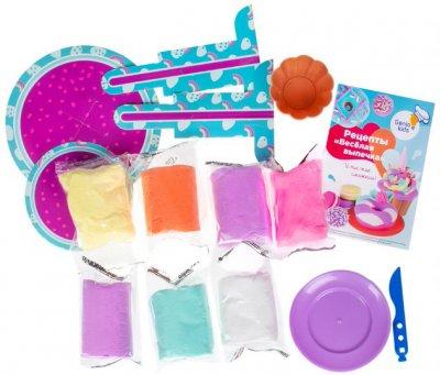 Набор для детской лепки из легкого пластилина Genio Kids Весёлая выпечка (TA1717) (4814723008108)