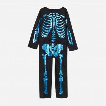 Карнавальный костюм H&M Скелет 2703-8679032 122-128 см Черный (hm06305077617)