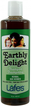 Шампунь Lafe's Earthly Delight Herbal без сульфатів для всіх типів волосся 454 мл (639585433905)